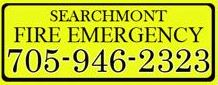 Searchmont and Area Emergency Phone Number for fires or medical response