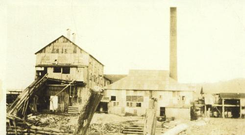 Hope Lumber Mill Searchmont 1926
