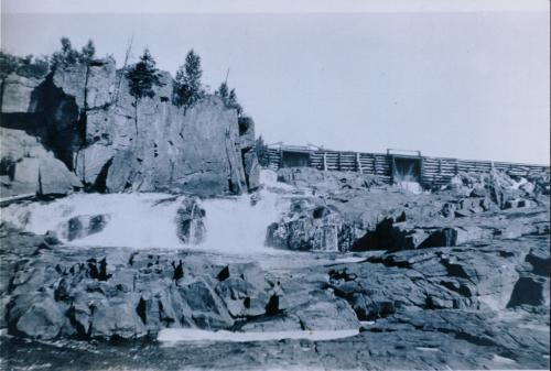 Whitman Dam in 1927